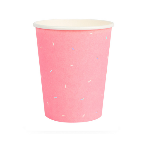 Pink Bubble Gum Cups