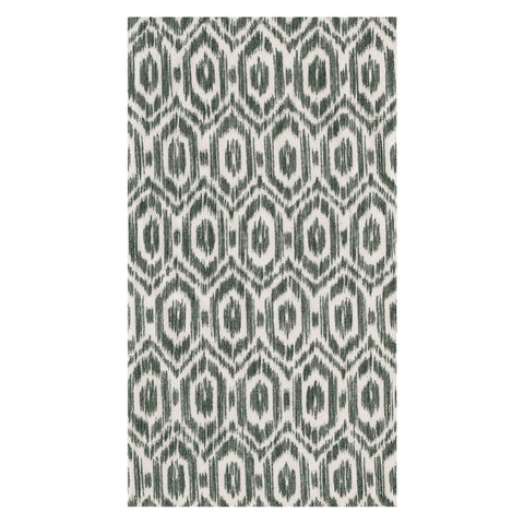 Amala Ikat Black Guest Towels