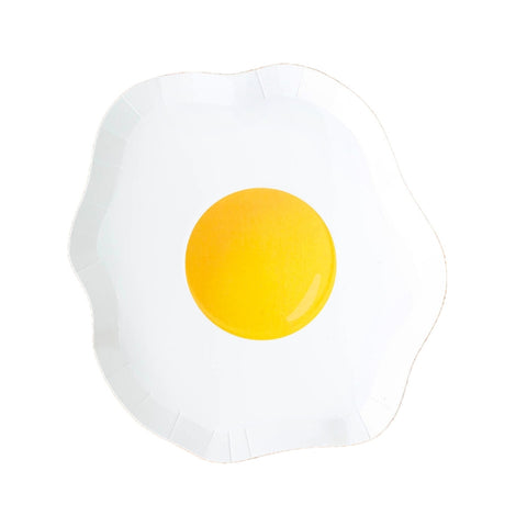 Yolks on You Die-Cut Egg Small Plate