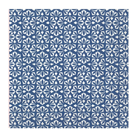 Blue Floral Small Napkin