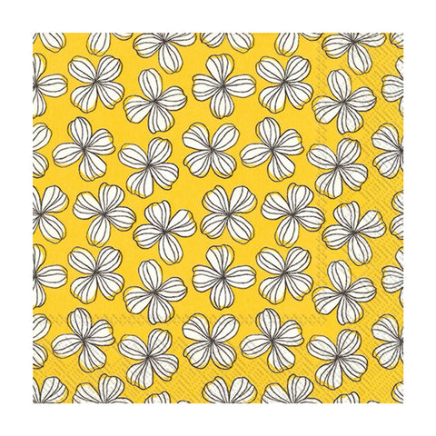 Yellow Liv Small Napkins