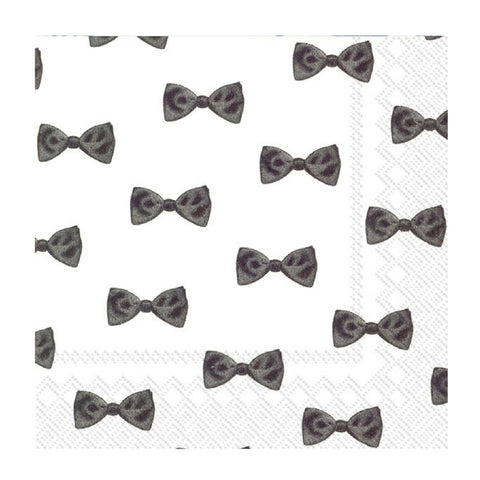 Black and White Darling Small Napkins