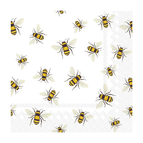 Save the Bees Small Napkins