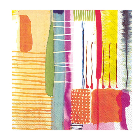 Le Colore Abstract Small Napkins