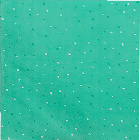 Peacock Green Napkins