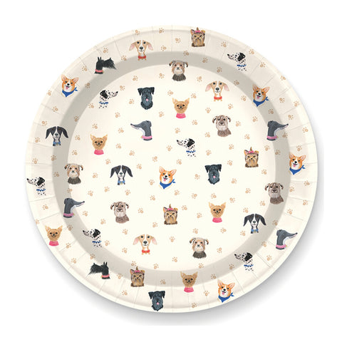 Doggone Cute Large Plate