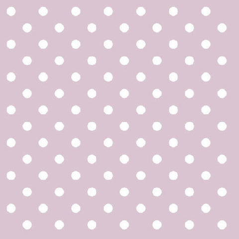 Lavender and White Mini Dots Large Napkins