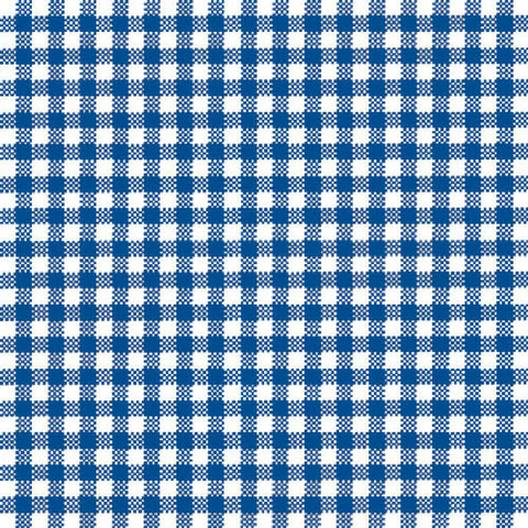 Blue and White Gingham Large Napkins