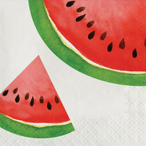 Picnic Watermelon Large Napkins