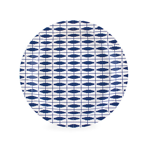 Navy Blue Nautical Small Plate