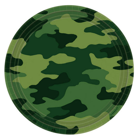 Camouflage Large Plate