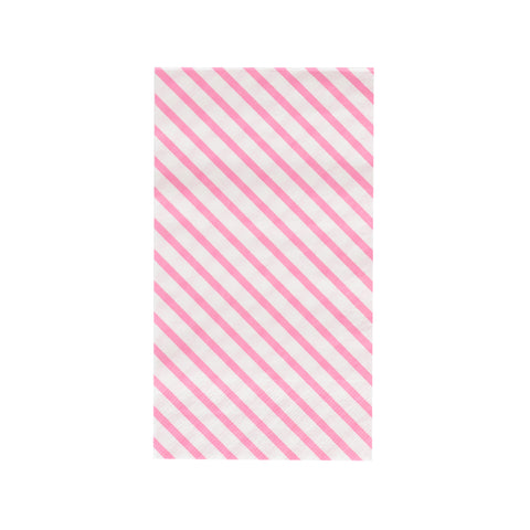 Neon Rose Stripes Oh Happy Day Guest Towels