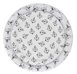 Black and White Intergalactic Small Plate
