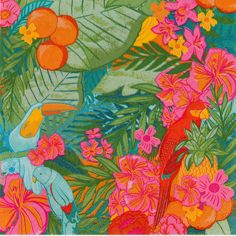 Tropical Fiesta Large Napkins