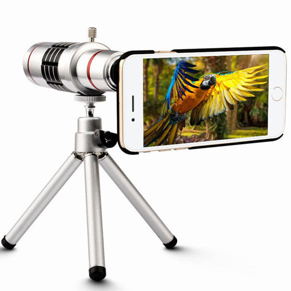 18x HD Optical Zoom Telescope Lens for Mobile Phones
