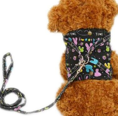 Breathable Dog Harness Vest Leash for Running and Jogging
