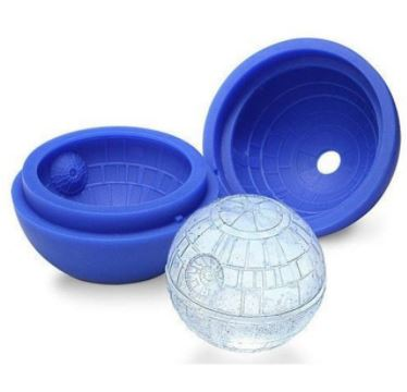 Silicone Star Wars Death Star Ice Cube Mold