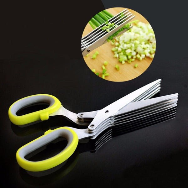 5 Layers Stainless Steel Scissors