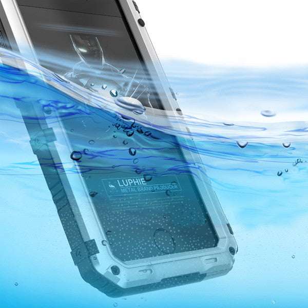 Triple Layer Military Grade Protection Waterproof iPhone Case
