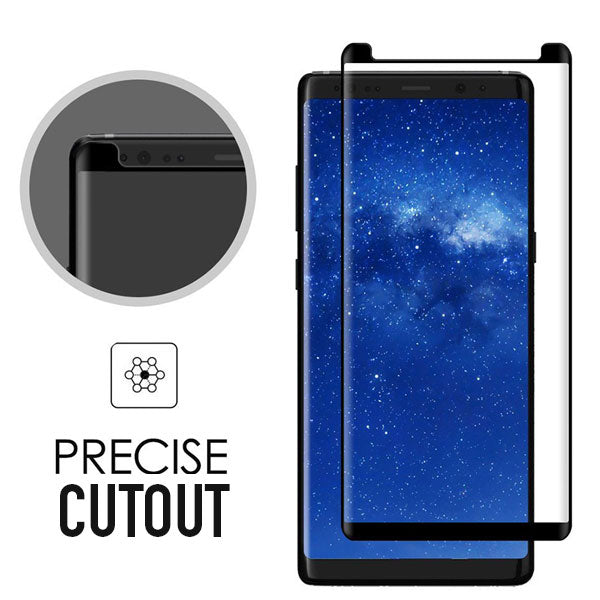 Case Friendly 3D  Glass Screen Protector for Galaxy Note 8