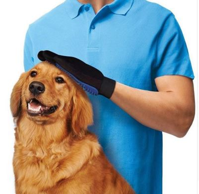 High-quality Dog Cat massage Glove Grooming Comb Accessory