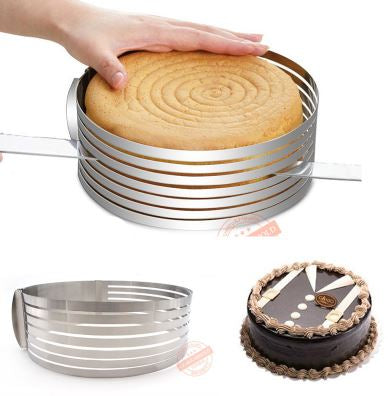 MARX Ultimate Stainless Steel Bread Cake Slicer Ring