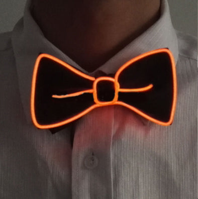 Glowing Wire Luminous Bowties and Neckties