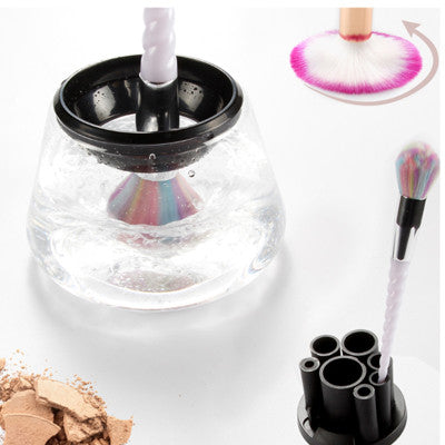 Professional Makeup Brush Cleaner and Dryer for All Brush Sizes