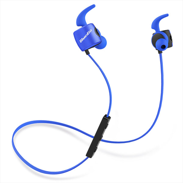 Sweat-Proof Wireless Bluetooth Headset with Built-In Microphone