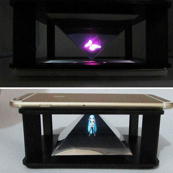 3D Hologram Viewer for iPhone and Smartphones
