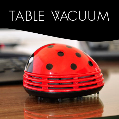 Mini Ladybug Table Top Vacuum