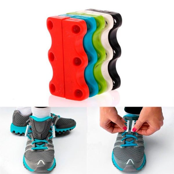 Magnetic Shoe Lacing System