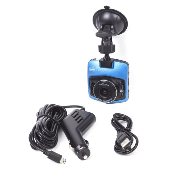 Compact Car DVR Full HD 1080P Dashcam Recorder with G-Sensor and Night Vision