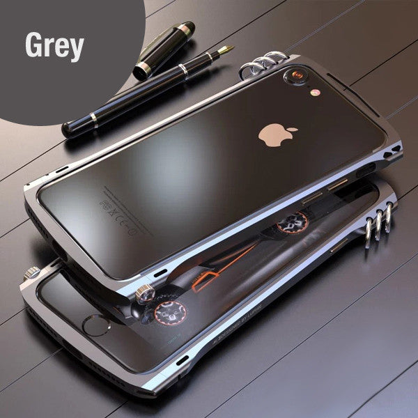 X1 Luxury Shockproof Ring Bumper Frame for iPhone