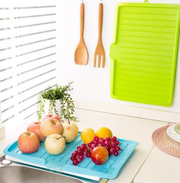 Sink Side Dish, Vegetable, Fruit Drying Drainer Board