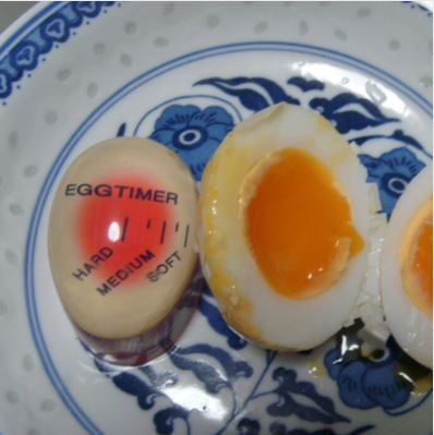 Perfect Boiled Eggs Resin Cooking Timer