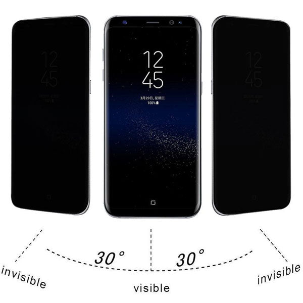 Anti-Spy Privacy 3D Tempered Glass Screen Protector for Galaxy