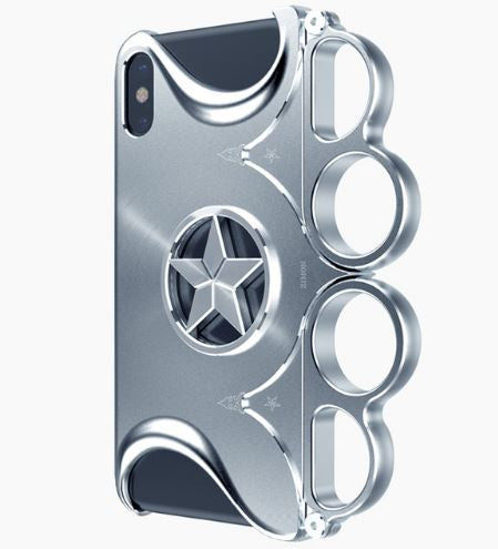 iPhone X Aluminum Knuckle Case