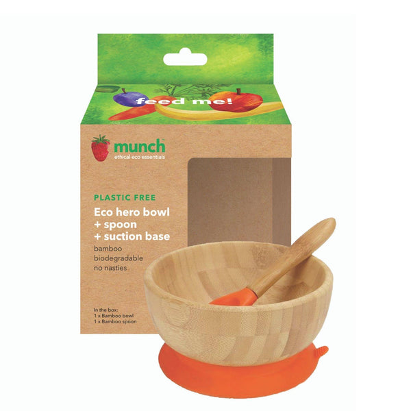eco hero baby suction bowl