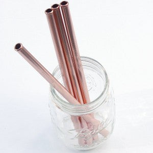 Reusable drinking straws  (singles)