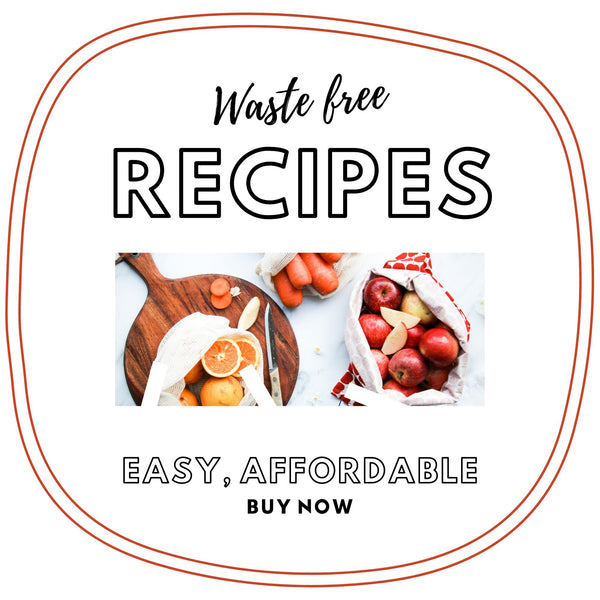 waste free recipes -ebook
