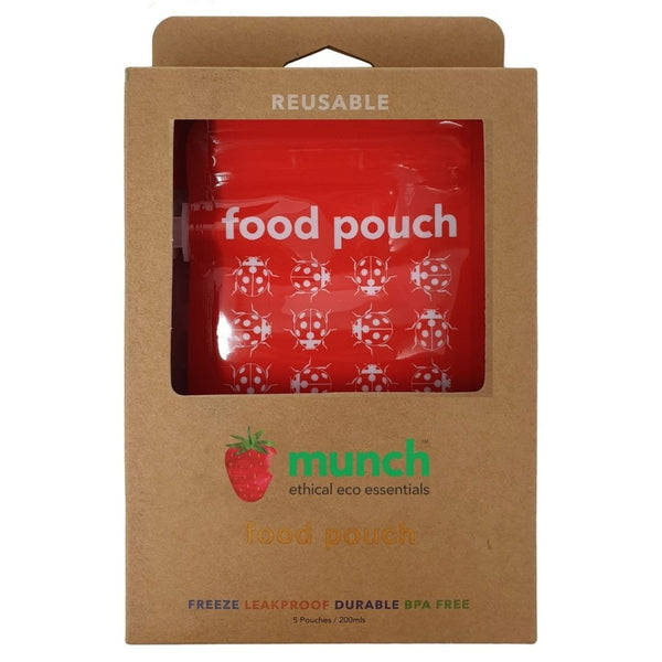 reusable food pouch