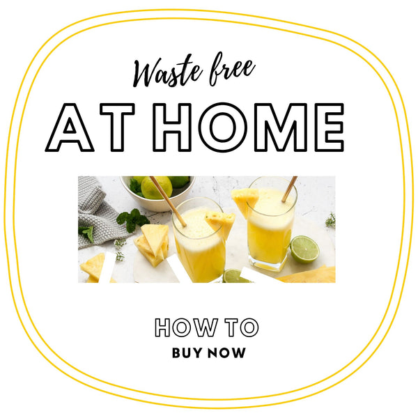waste -how to be waste free at home - ebook