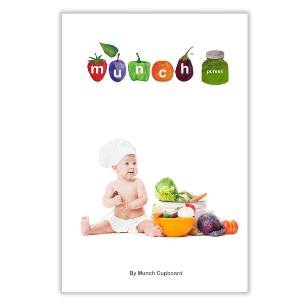 Munch eBook nz Organic Recipes - Baby Purees by Munch - ebook