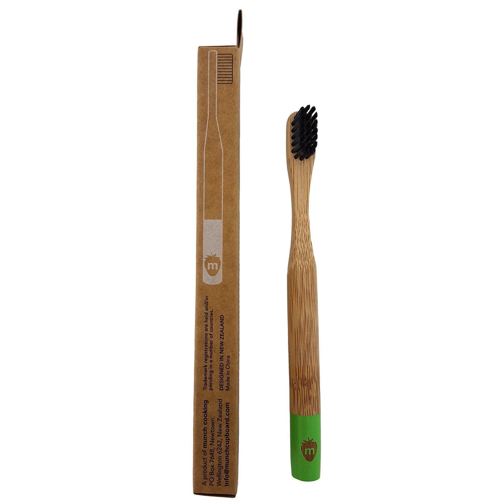 Munch Toothbrush Bamboo Toothbrushes for Kid