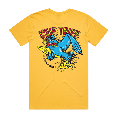 CORBIN NASH X GAGE ROADS CHIP THIEF T - YELLOW - LTD RELEASE