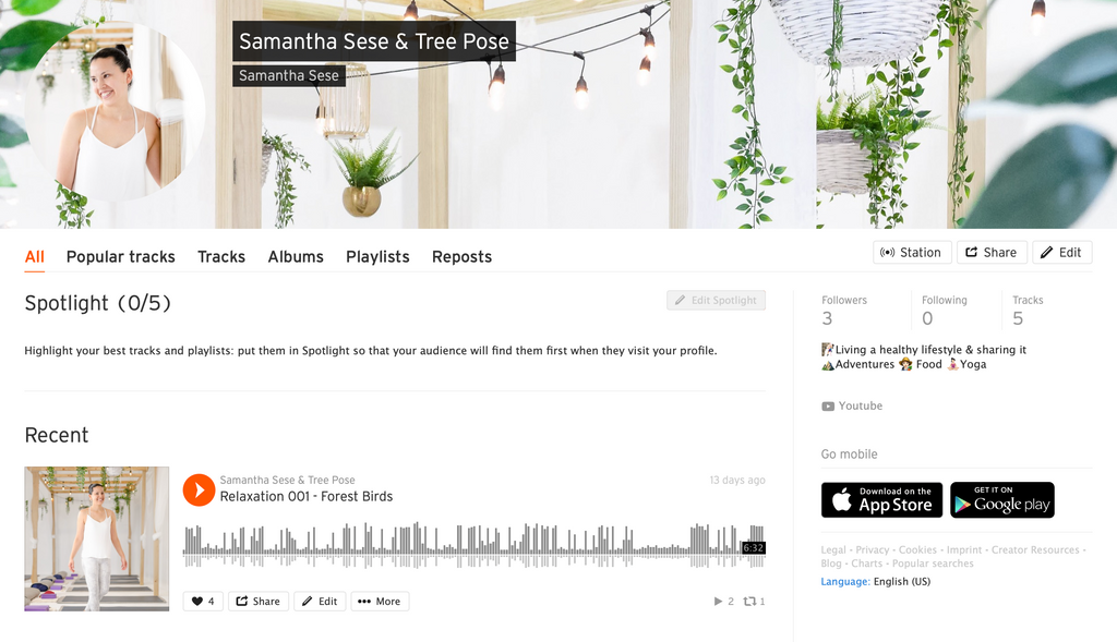 Samantha Sese (Soundcloud)