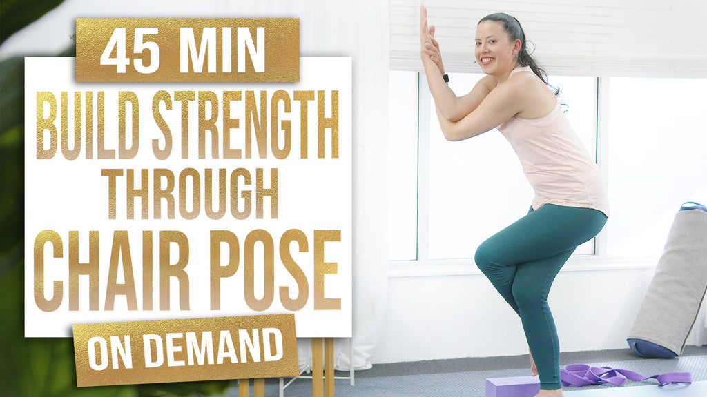 Build Strength Through Chair Pose