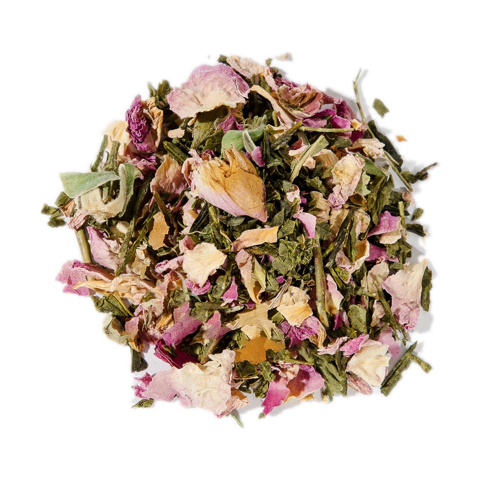 Rose Bancha Tea