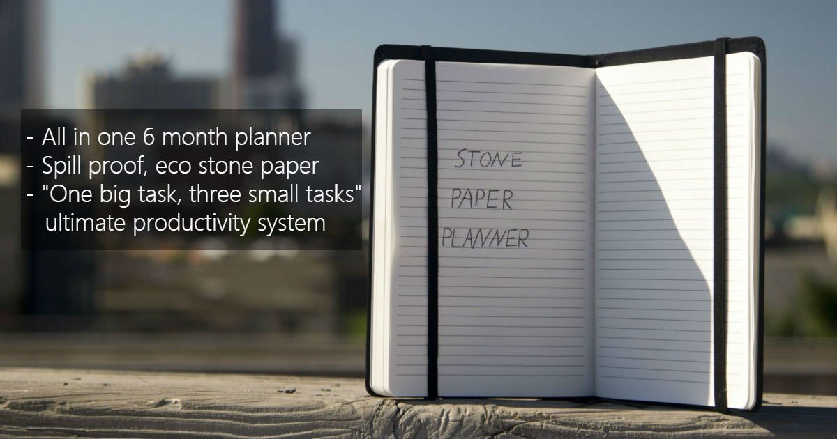 Win the Eco Planner/Notebook!